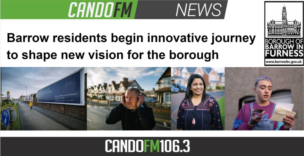 Barrow residents begin innovative journey to shape new vision for the borough